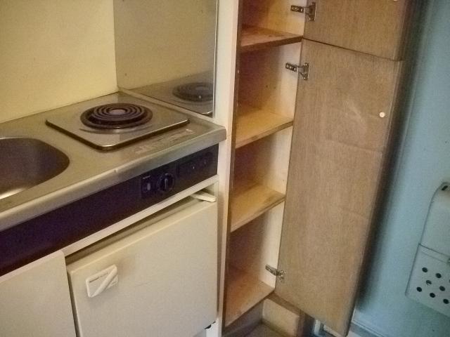パルスクエアー・サノ 103号室のキッチン