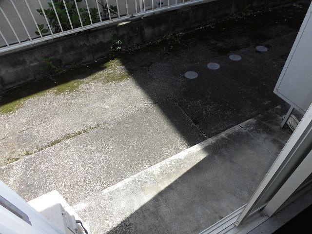 コーポ青木第2 103号室のバルコニー