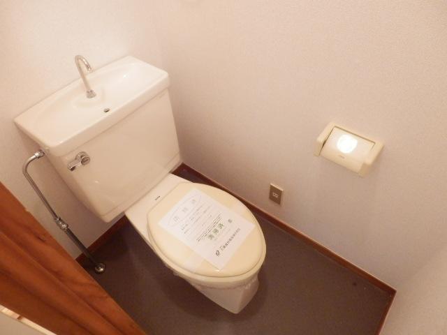ボヌールレジダンス 202号室のトイレ