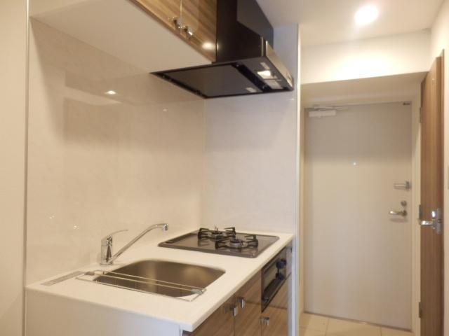 グランド・ガーラ立川 1104号室のキッチン