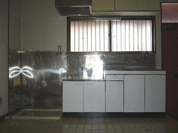 サンコーポはぎわら 205号室のキッチン