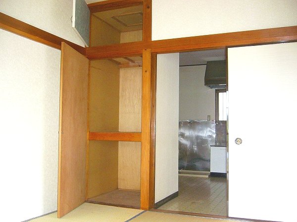 サンコーポはぎわら 205号室の収納
