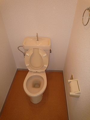 あいちビル 4B号室のトイレ