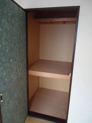 メゾン野見山台ⅡA棟 202号室の収納
