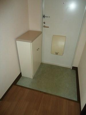 メゾン野見山台ⅡA棟 202号室の玄関