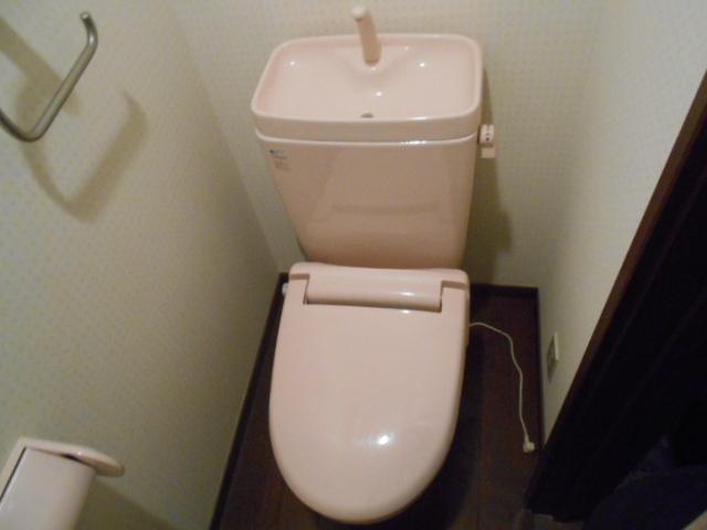 フモールナカネ 203号室のトイレ