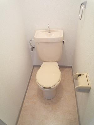 第2みゆきビル 202号室のトイレ