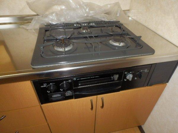 パピーコート 102号室のキッチン