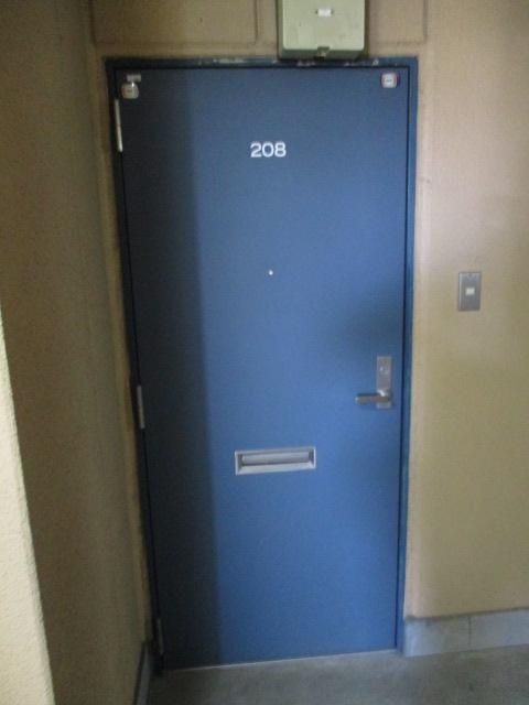 グランドォール宇都宮 208号室の玄関