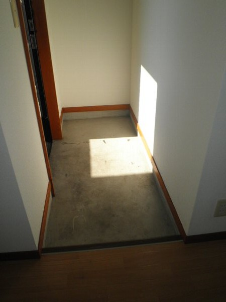 アクツハイツC 201号室の玄関