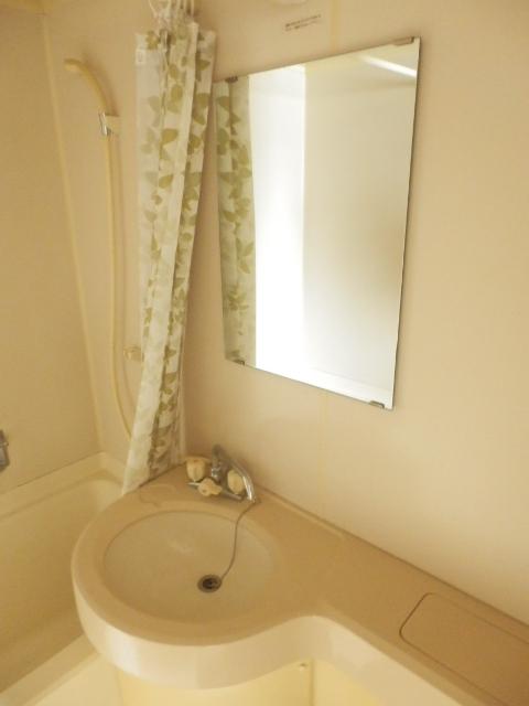 マンションブルーホーク 101号室の洗面所