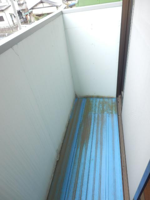 フェアステージ525 203号室のバルコニー