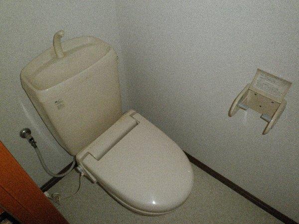 オーエスハイツ 202号室のトイレ