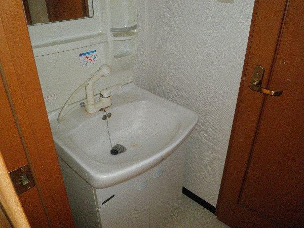 オーエスハイツ 202号室の洗面所