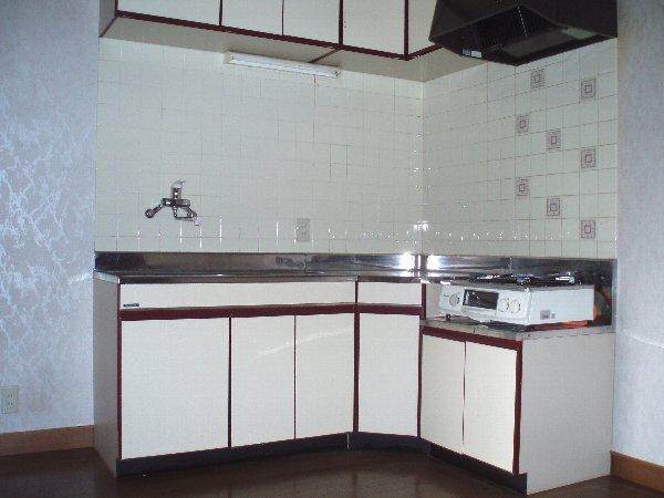 KSハイツⅡ 101号室のキッチン