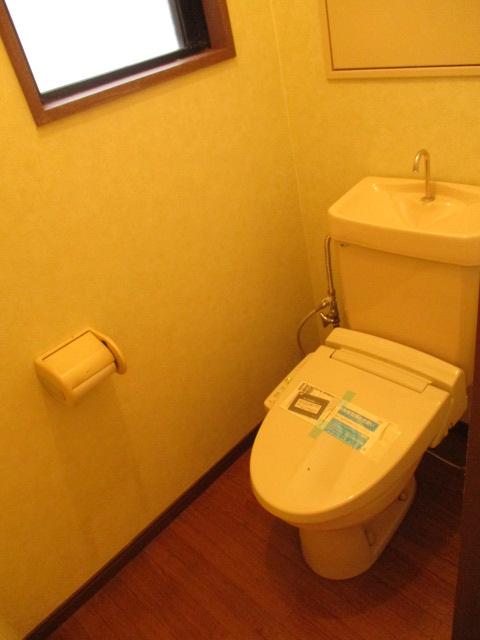 サンドビル2 203号室のトイレ