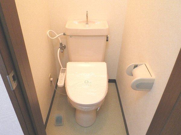 タウンメイツコスモⅡ 112号室のトイレ