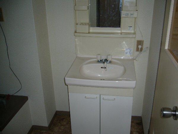 セントラルハイツ 103号室の洗面所