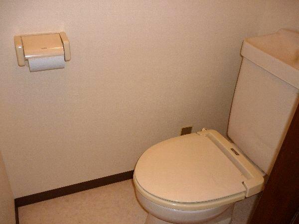 コーポ川俣 103号室のトイレ