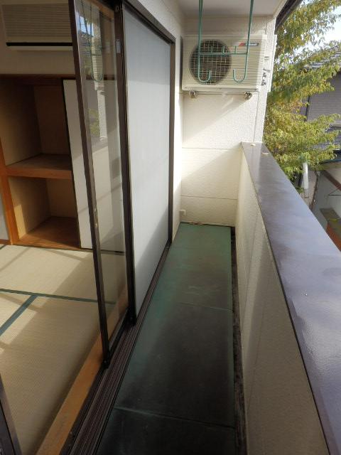 コーポ川俣 202号室のバルコニー