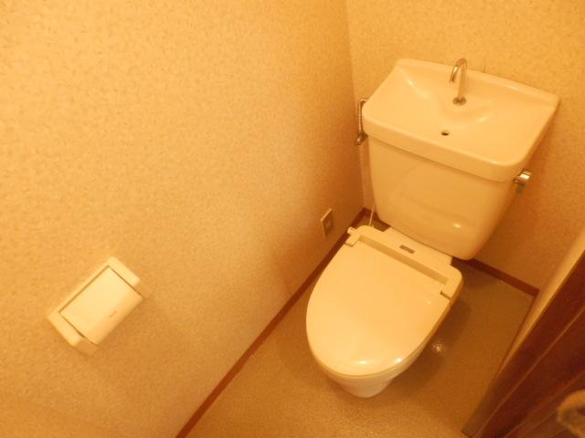 コーポ川俣 202号室のトイレ