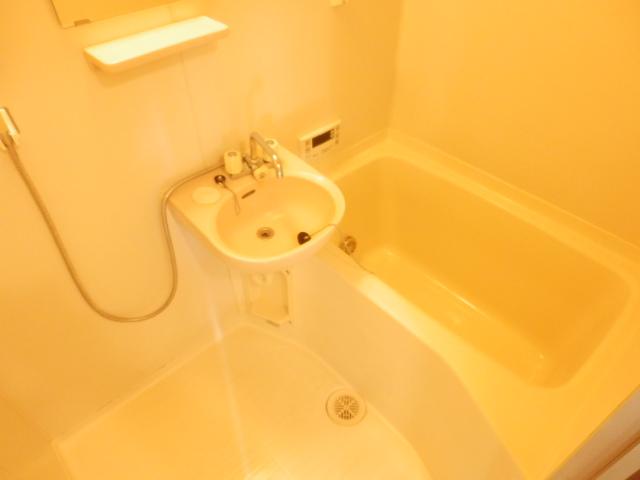 コーポ川俣 202号室の風呂