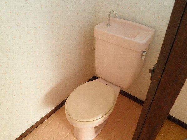 ヘレンハウゼA 201号室のトイレ