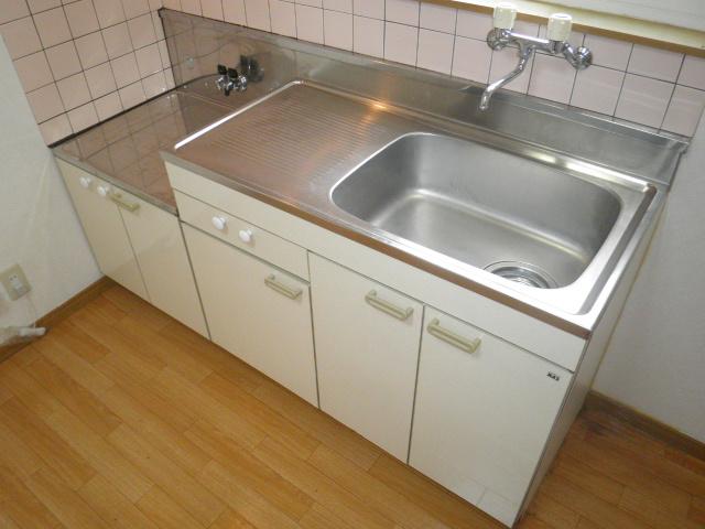 さくらハイツ 201号室のキッチン