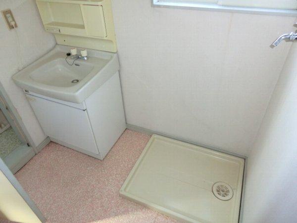 リトルワールド21 PART1 102号室の洗面所