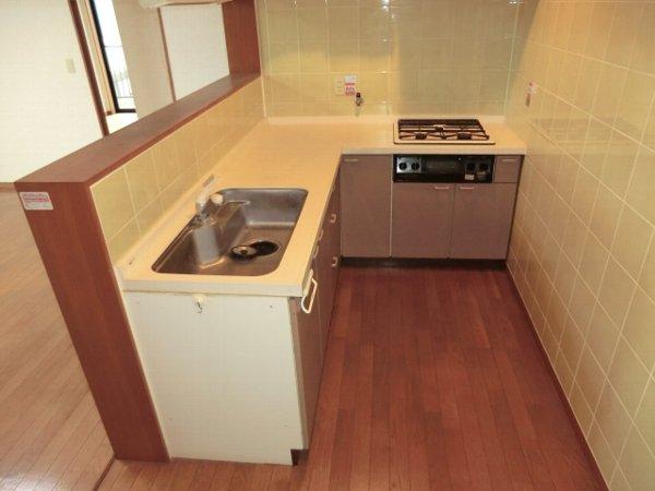 Kハイツ 202号室のキッチン