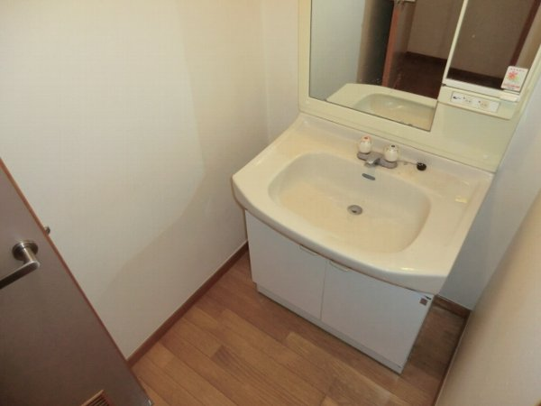 Kハイツ 202号室の洗面所
