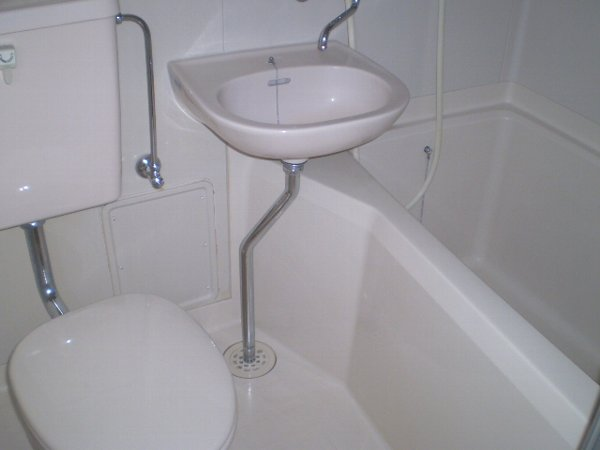 藤ハイツ北一の沢 A206号室の風呂