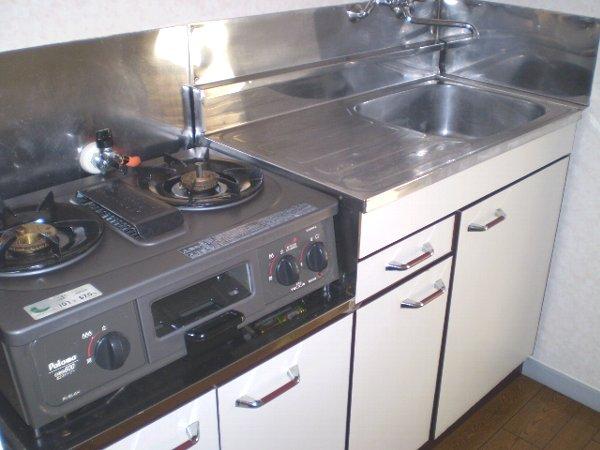 藤ハイツ北一の沢 A206号室のキッチン