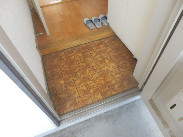 荻原ハイツ 203号室の玄関