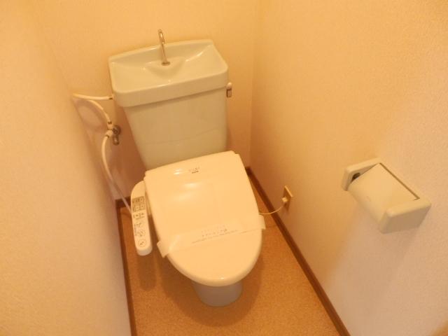 土田コーポ 201号室のトイレ