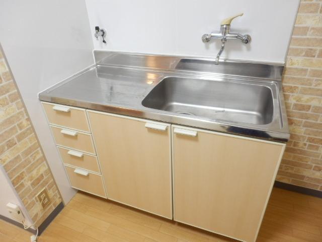 メゾンマロニエ岩曽 201号室のキッチン