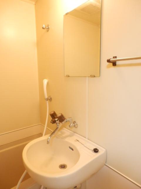 メゾンマロニエ岩曽 201号室の洗面所