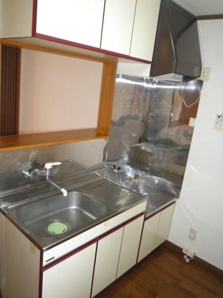 グリーンビラ福 106号室のキッチン