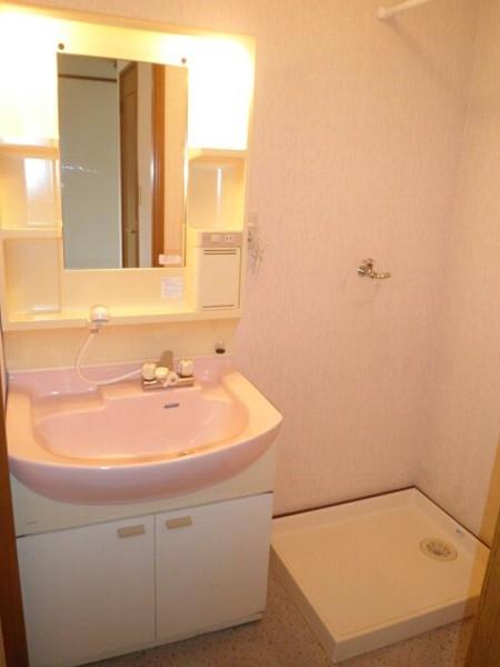 グリーンビラ福 106号室の洗面所