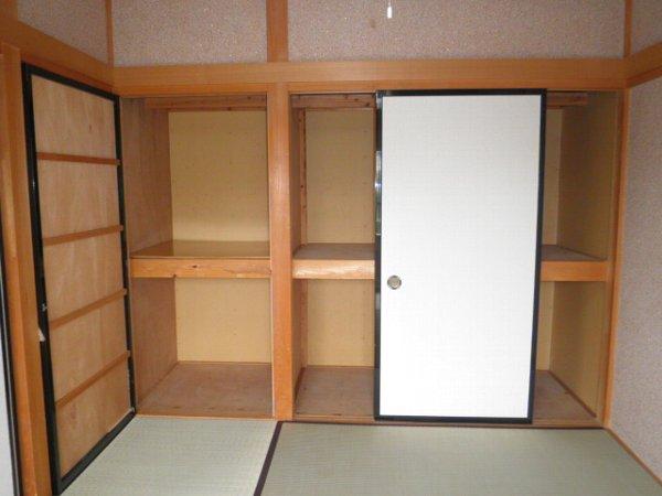 グリーンビラ福 106号室の収納