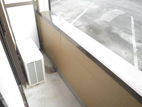 グリーンビラ福 106号室のバルコニー