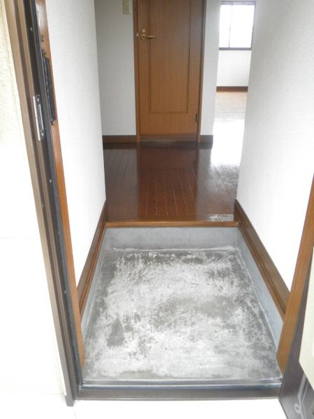 グリーンビラ福 106号室の玄関