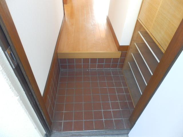 ソーラーみゆき 102号室の玄関