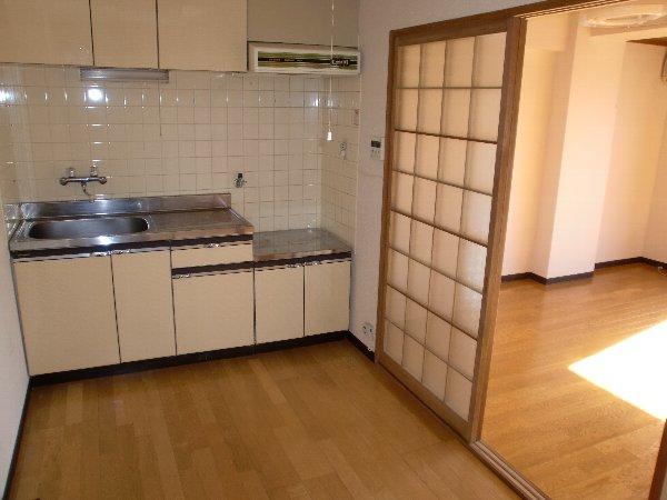 会津コーポ 202号室のキッチン