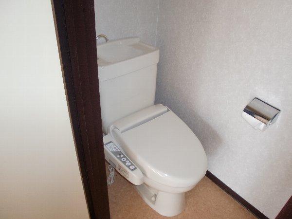 会津コーポ 202号室のトイレ
