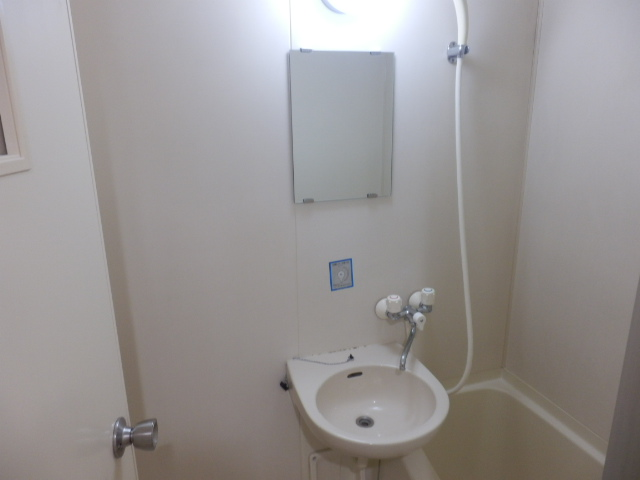 会津コーポ 306号室の洗面所