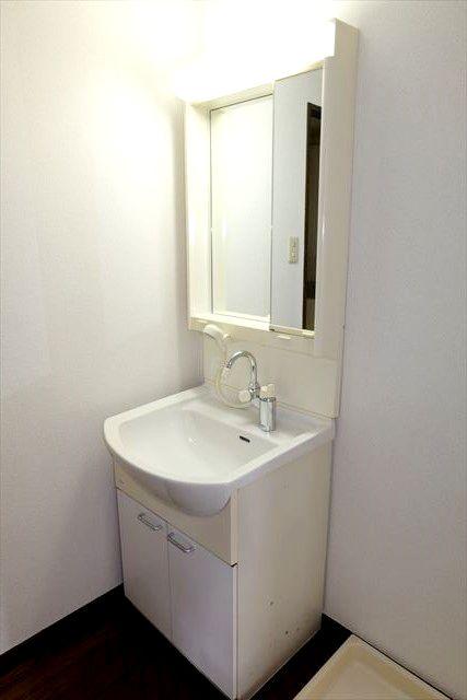 グローバル小山 103号室の洗面所