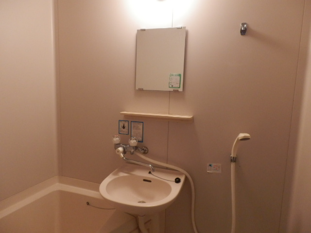 グリーンコーポ 101号室の洗面所
