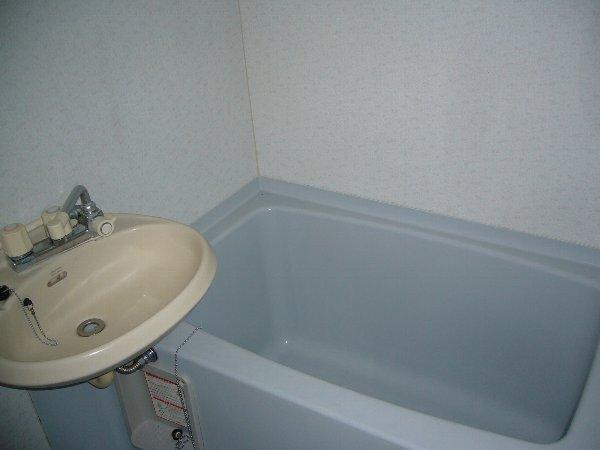 白石コーポ 203号室の風呂