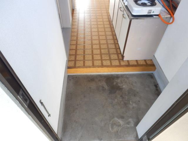 吉沢ハイツ 202号室の玄関